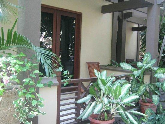 Risata Bali Resort & Spa: Room Balcony