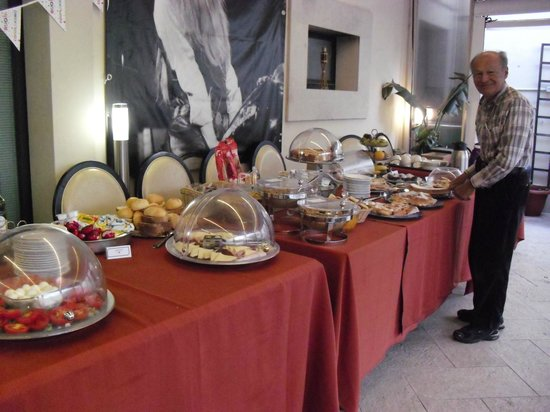 Hotel dei Coloniali: breakfast choices