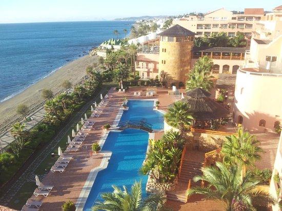 Gran Hotel Elba Estepona & Thalasso Spa: vue de la terrasse de chambre
