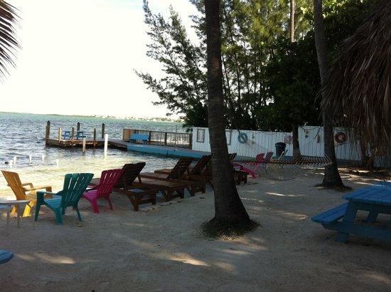 Seafarer Resort and Beach: Beach area