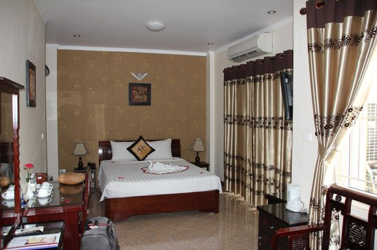 Hanoi Old Centre Hotel: Superior Double Balcony room