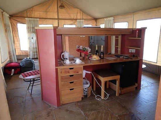 Sentrim Amboseli: Tent inside