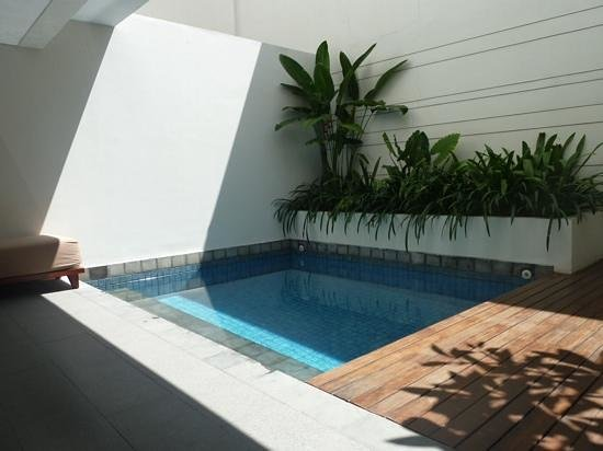 The Magani Hotel and Spa : Room 1003's plunge pool