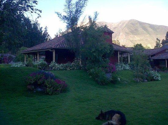 Villa Urubamba Sacred Valley: Vista desde el dormitorio