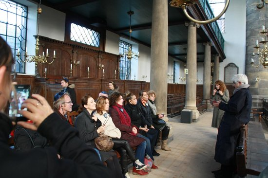 Jewish History Walking Tour: Portugese Synagoge