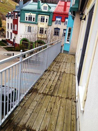 Homewood Suites Mont-Tremblant : Balcony # 2