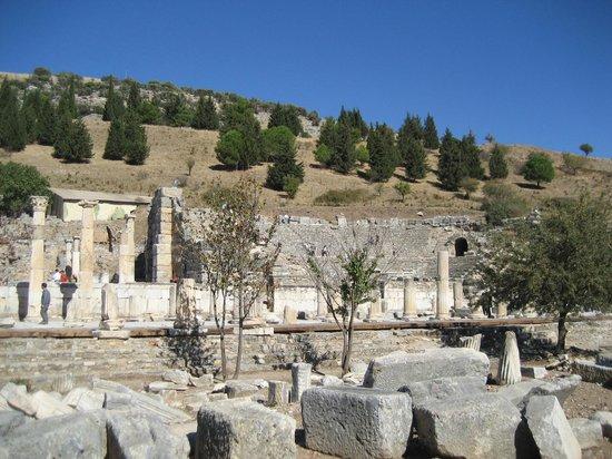 Ephesus - Picture of Ephesus Shuttle Day Tours, Kusadasi ...