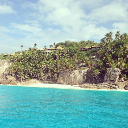 Fregate Island Private: View from the Boat