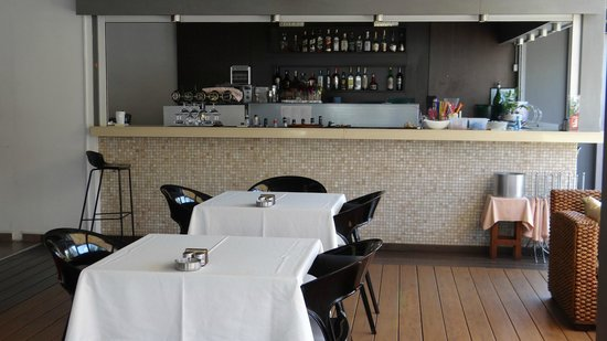 Molti Restaurant : The Bar of the Restaurant