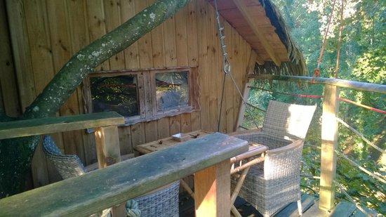 Parc de la Belle : Terrasse