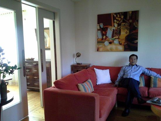 Le Stoeckli : Stoeckli living room