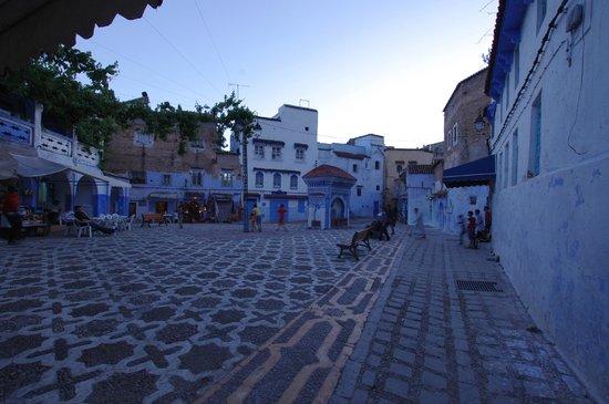 Apartments Dar el Moualim: chefchaouen square