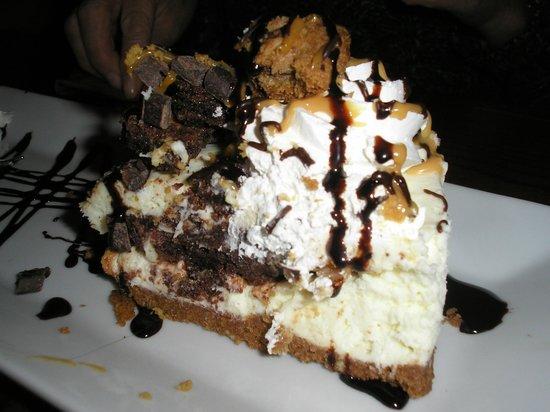 The Sidings Restaurant: The hair in the dessert