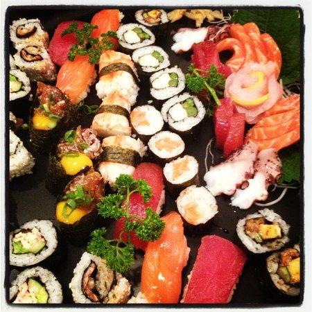Yuki: sushi 3 tipos