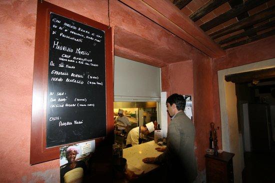 Locanda Vigna Ilaria: Отличная кухня ресторана