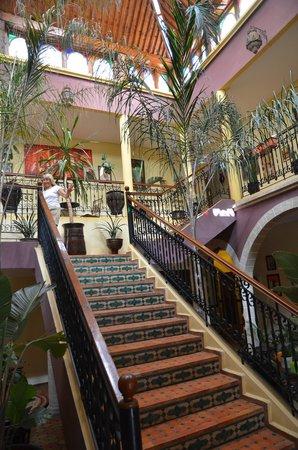 Riad Zahra Mogador : die schmucke Treppe