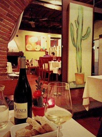 Locanda Vigna Ilaria: Ужин в ресторане отеля
