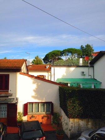 Locanda Vigna Ilaria: вид из углового окна