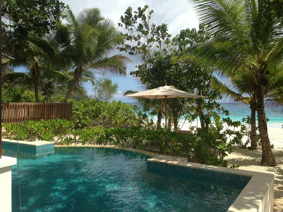Takamaka, Ilhas Seychelles: View from the villa