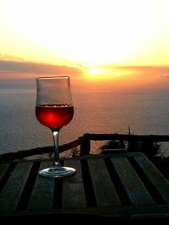 Calhau Grande: Beautiful romantic sunsets