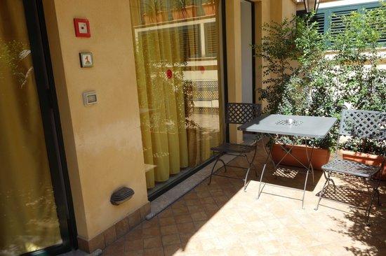 Residence degli Agrumi: our patio
