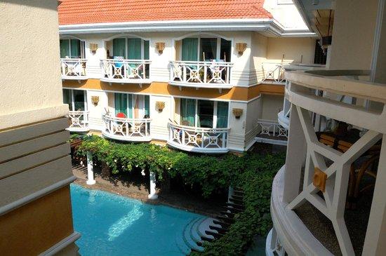 Boracay Mandarin Island Hotel: balcony view - deluxe