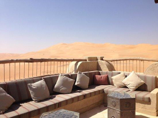 Qasr Al Sarab Desert Resort by Anantara: il nostro terrazzo