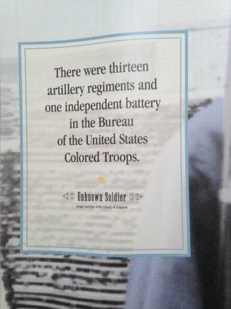 African American Civil War Memorial & Museum: display