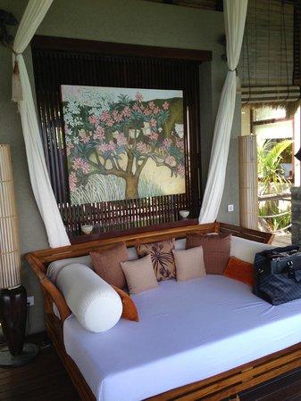 MAIA Luxury Resort & Spa: Relaxation area of the Villa