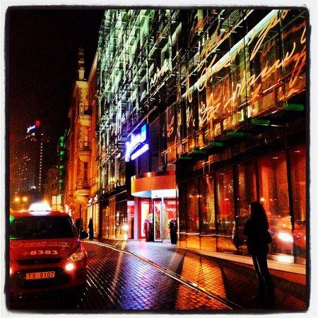 Radisson Blu Elizabete Hotel: Вид с улицы