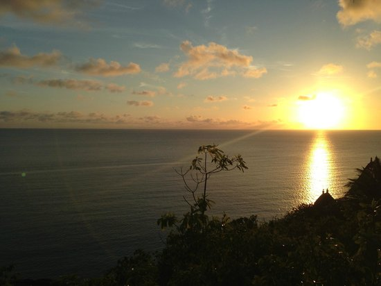 MAIA Luxury Resort & Spa: Sunset view from Villa
