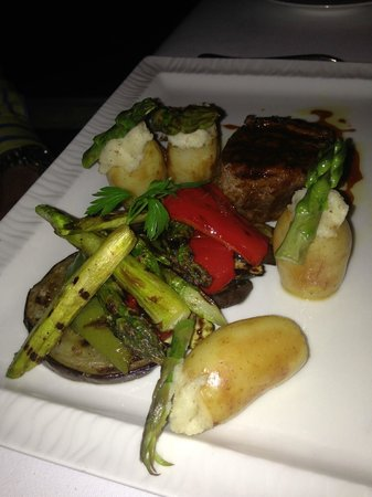 MAIA Luxury Resort & Spa: One of the delicious dishes
