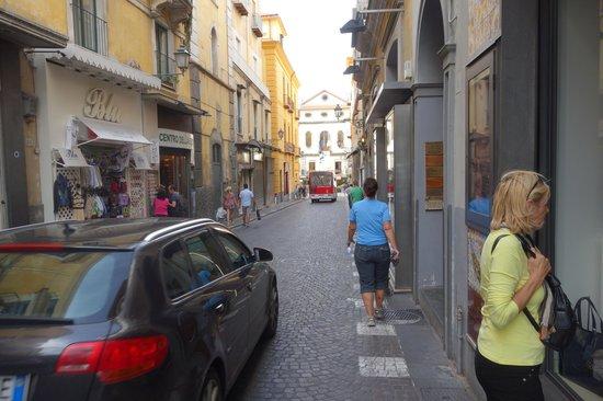 Luigi De Maio - Tasso Suites just on right from walker