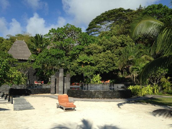 MAIA Luxury Resort & Spa: small area outside the Hotel