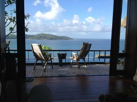 MAIA Luxury Resort & Spa : the view we had every morning when we got up :-)