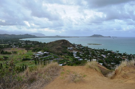 Lanikai Pillboxes: View from the first pillbox