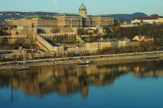 Budapest Marriott Hotel: view from the room