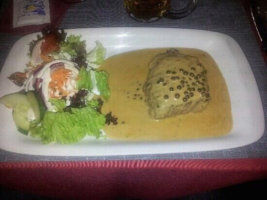 De Mosselkelder: this alternative to seafood was excellent