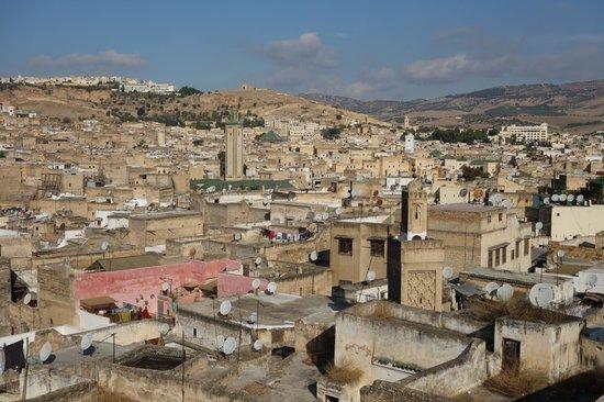 Riad Le Calife : vue depuis la terrasse