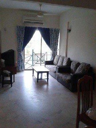Bayu Beach Resort Port Dickson: Living room
