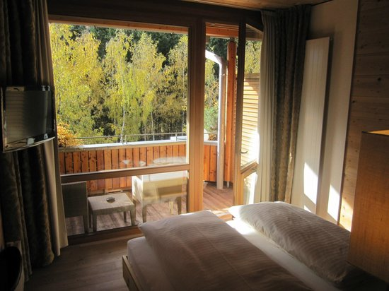 Naturhotel Waldklause: Zimmeraussicht