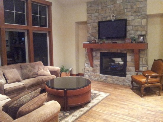 Suncadia Resort: Living room