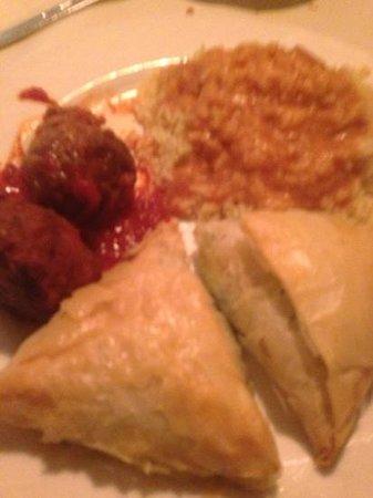 Aegean Restaurant: combination lunch