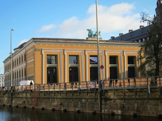 Exterior of the Thorvaldsens Museum