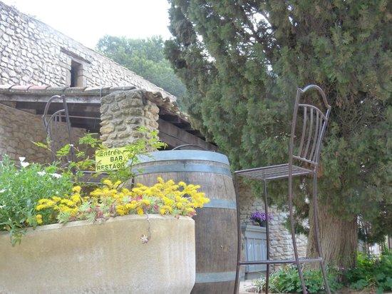 Terrasse Du Bar Picture Of Bw Domaine De Roquerousse