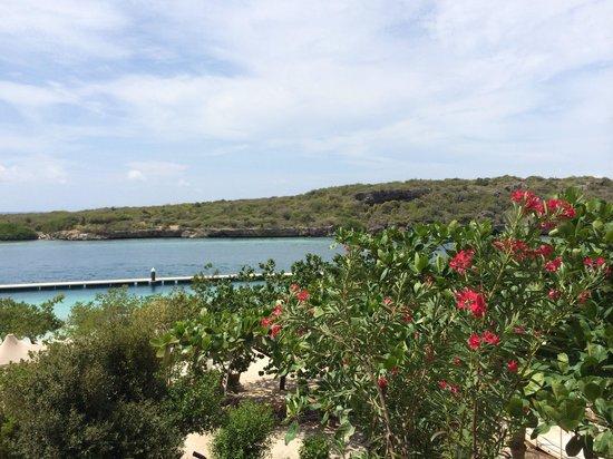 Santa Barbara Beach & Golf Resort, Curacao: View from our ocean view room