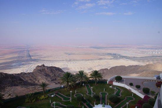 Mercure Grand Jebel Hafeet Al Ain: Aussicht vom Zimmer
