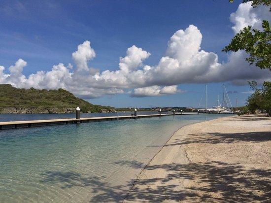 Santa Barbara Beach & Golf Resort, Curacao: Beach at Santa Barbara