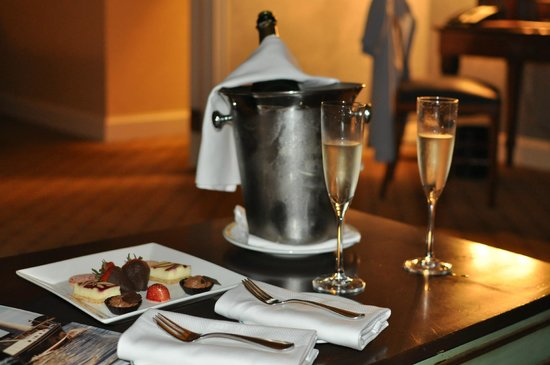 Boston Harbor Hotel : complimentary