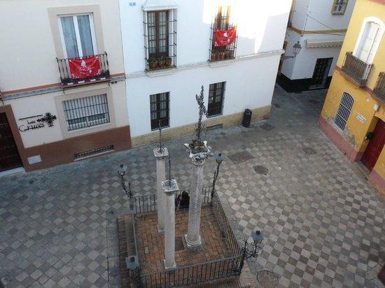 Hotel Patio de las Cruces: place vue de la chambre